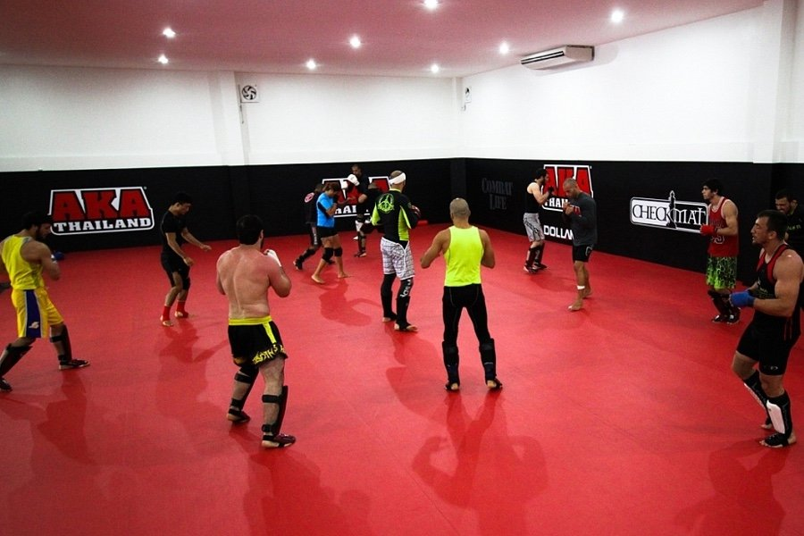 MMA Training Area