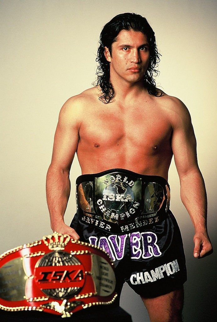 Javier Mendez with Belt