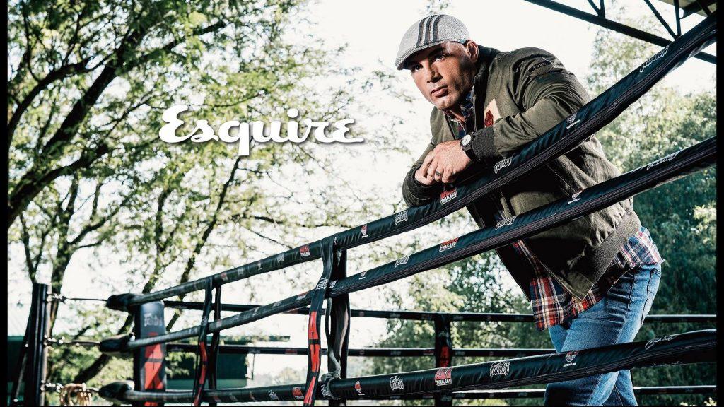 Mike Swick in Esquire