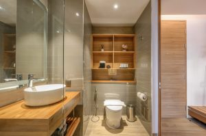 Stay Wellbeing and Lifestyle Resort Suite bathroom