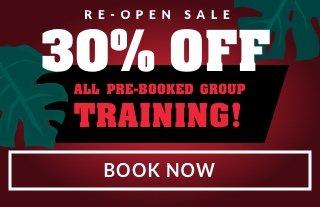 30% off Re-Open Sale