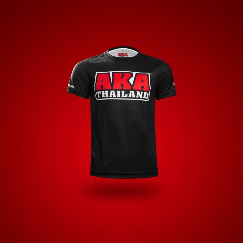 Black Red tshirt front